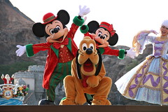 A Perfect Christmas (sidonald) Tags: tokyo disney tokyodisneysea tds tokyodisneyresort tdr aperfectchristmas christmaswishes christmas      mickeymouse mickey minniemouse minnie   pluto