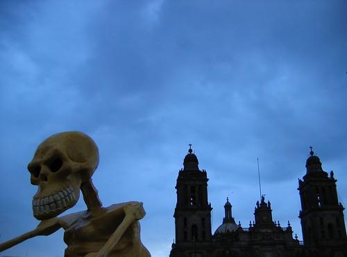 Día de Muertos. Zocalo de La Ciudad de México