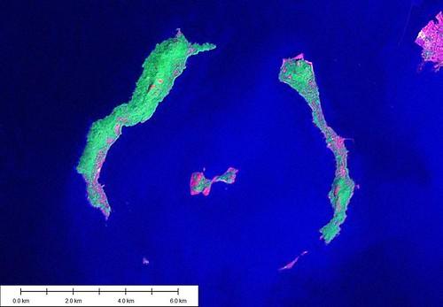 Iles de Los - Landsat Image N-28-05_2000 (1-62,500)