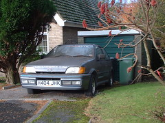 Ford Fiesta XR2i (Moments of Yesterday) Tags: boy hot car cool taxis vehicle rusting hatch rare sjk racer hatchback xr2
