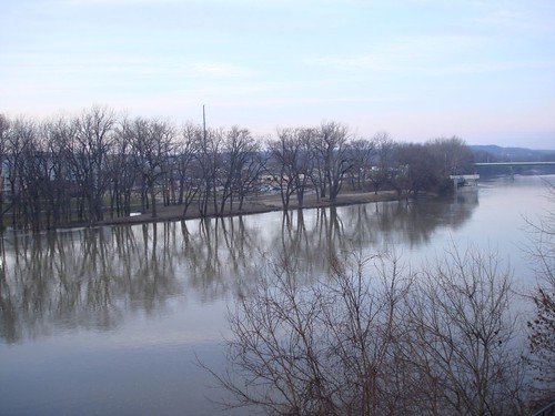 Wabash River is High