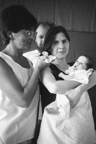 Autoritratto con Paola, Gi e Marina. Natal, 1998
