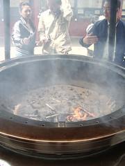 Fuego purificador en Asakusa