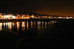 Night, Bray seafront
