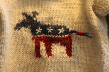 Donkey Intarsia