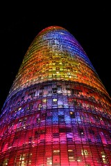 HAPPY NEW YEAR IN COLORS! (daniel vasco) Tags: barcelona tower colors catalunya catchy torreagbar agbar