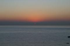 New Year's Day sunrise in Malibu