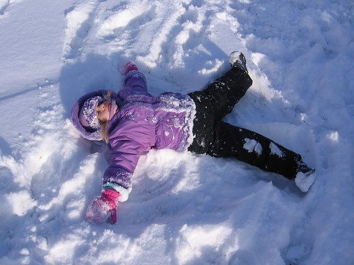 I'm a Snow Angel!
