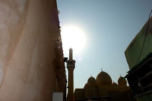 Minaret... or candle?