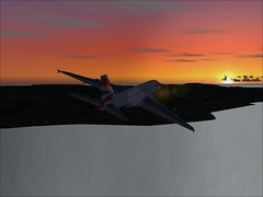A380 (Mohamed Almahroos) Tags: bahrain dell fs2004 gulfair qatarairways thesmartsnake alma7roosphotography