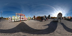 Neon Graveyard 3, Las Vegas, Nevada - 360 (Sam Rohn - 360 Photography) Tags: panorama usa signs abandoned geotagged photography hotel photo interesting nikon neon desert lasvegas nikond70 decay nevada motel panoramic photograph googie filmmaking stitched filmproduction 360x180 qtvr scouting 360 360x180 panography filmlocation locationscouting neonboneyard neongraveyard oldsigns locationscout equirectangular 105mmf28gfisheye filmlocations filmscouting nylocations samrohn realvizstitcher locationscouts geo:lat=3617736 geo:lon=115134581 filmscout virtiualtour