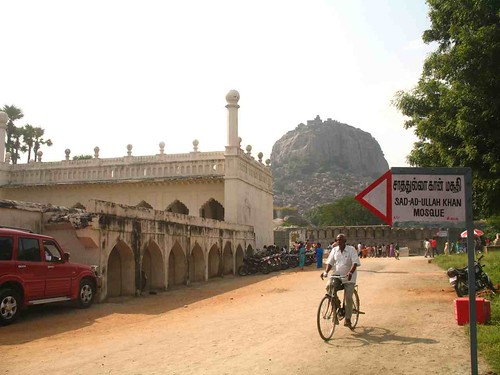 Flickr: Mosque and Rajagiri Fort behind