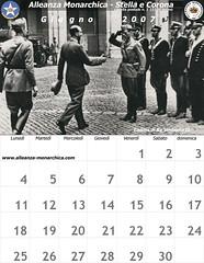 Calendario giugno  2007