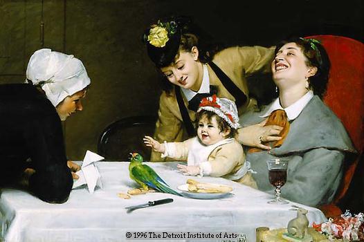 Carolus-Duran, Merrymakers, 1870