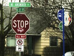 Stop Driving - by Zervas
