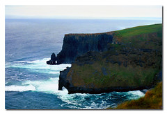 the cliffs of moher (.finding.ireland.) Tags: county 2002 ireland irish clare eire cliffs april celtic cliffsofmoher gaelic moher besidethesea findingireland coisfarraige pinterest