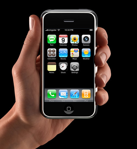 Apple released iPhone today