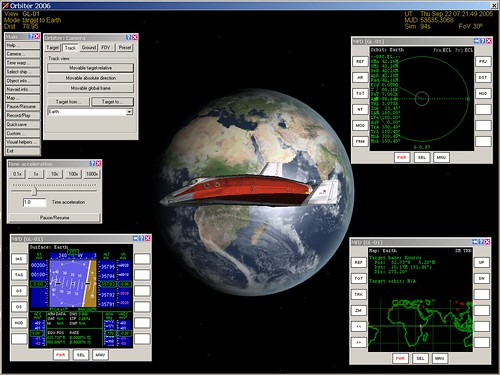 Geostationary Demo in Orbiter
