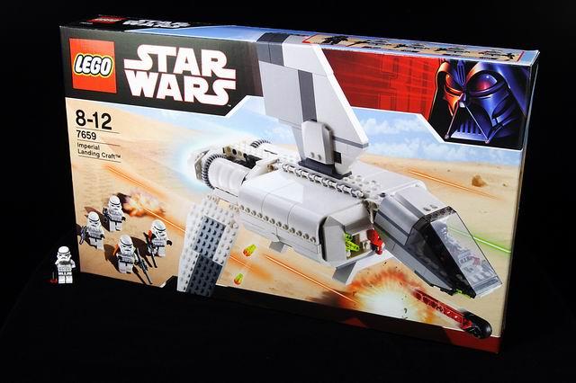2007星戰系列 7659 Imperial Landing Craft 帝國登陸艇