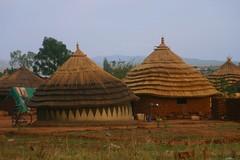 mud huts (LindsayStark) Tags: africa travel war sudan conflict humanrights humanitarian displaced idpcamp refugeecamp idp humanitarianaid emergencyrelief waraffected