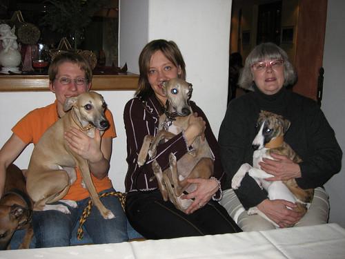 Jana, Bine und Gerry