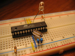 atmega standalone (neillzero) Tags: macro electronics arduino atmega standalone