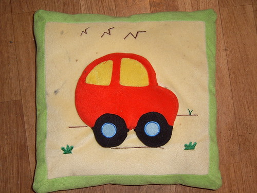 Car on a pillow