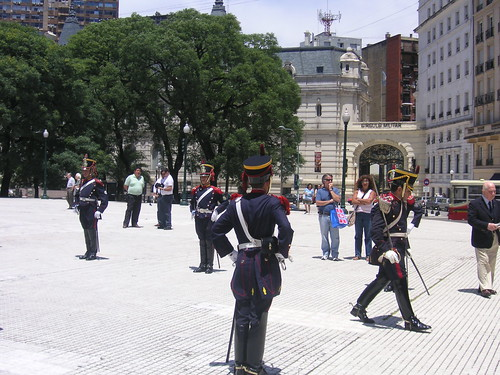 Plaza San Martín and Retiro