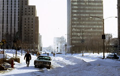 Feb. 20, 1972 (colros) Tags: snow montreal dorchester laurentienhotel