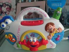 Faith's favourite Elmo toy