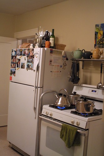 The Kitchen-new paint!