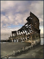 peter iredale at sunrise (jody9) Tags: ocean beach topf25 oregon sunrise bravo shipwreck astoria godfather iredale abigfave colorphotoaward utata:color=black superbmasterpiece thegodfatherfamily utata:project=upportfolio