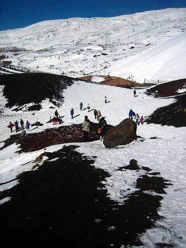 Near One of Etna's Craters