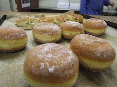DOUGHNUTS (MR BUN THE BAKER) Tags: old food cakes cake bread baking baker north norman bakery breadmaking olley elmham