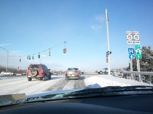 Winter's Drive: At West Henrietta Rd