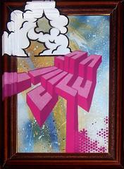 Mo-Nimbus-Column (Lord Leigh) Tags: portrait streetart art breakfast graffiti mono robot stencil leicester stickers lord canvas commission mista monoclothing