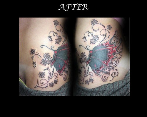Portfolio tattoos (Set) · stomach work- ribs (Set) · lower back (Set)