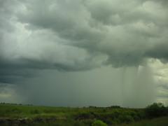 Full rain storm