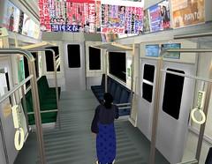 secondlife散歩道(地下鉄)