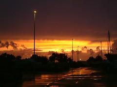 La Rochelle Minimes embrasés.JPG (karl_nemo1954) Tags: sunset orange france clouds soleil town ciel larochelle nuages ville coucherdesoleil supershot aplusphoto lesminimes