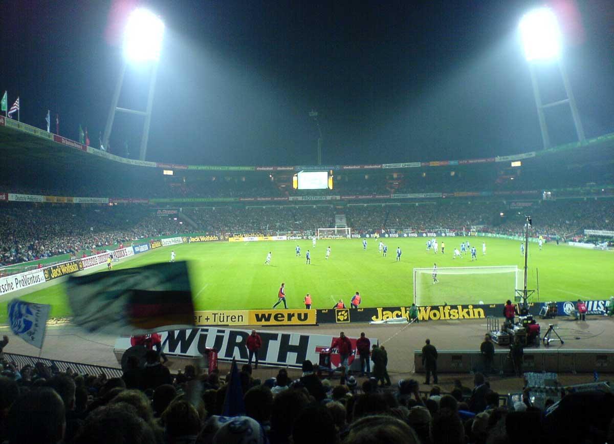 Auswärtsspiel Bremen - Schalke 0:2 (04.02.2007)