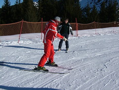 Ski School #1 (tom_bennett) Tags: ski meribel freshsnow freshminds