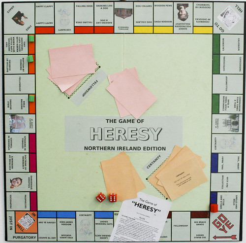 Heresy Board Game From Johnny Baker's Flickr Stream