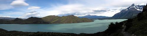 Lake Nordenskjold panorama