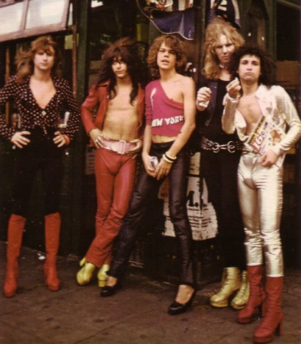 New York Dolls 1973 street