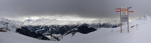 Approaching snow, Verbier