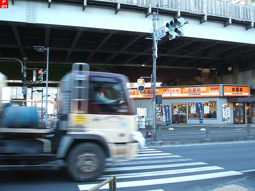 新木場駅レストラン1