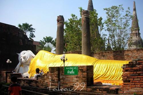 Big Reclining Buddha, Thailand