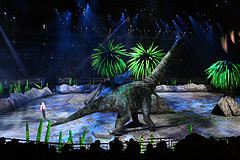 walking with dinosaurs live