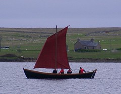 """Replica Sixareen on trials (nz_willowherb) Tags: holiday wonderful see boat sailing tour place yacht traditional vessel visit willowherb unst boathaven visitnorway to"""" """"go sixareen gotonorway seenorway visitunst seeunst gotounst"""